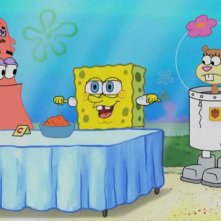 Una scena tratta da SpongeBob Live Party