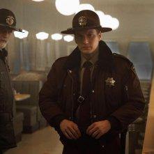 Fargo: Ted Danson e Patrick Wilson in una scena della première