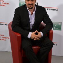 Roma 2015: James Vanderbilt posa al photocall di Truth