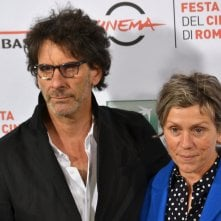 Roma 2015: Frances McDormand e joel Coen in uno scatto al photocall