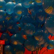 Roma 2015: palloncini promozionali de Il viaggio di Arlo