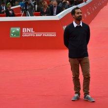 Roma 2015:kelsey Mann mentre posa sul red carpet de IL viaggio di Arlo