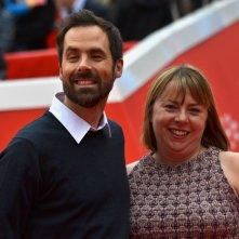 Roma 2015: Kelsey Mann e sua moglie sul red carpet de IL viaggio di Arlo