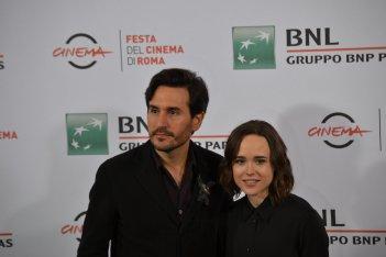 Roma 2015: Ellen Page e Peter Sollet posano al photocall di Freeheld