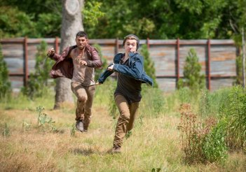 The Walking Dead: Austin Abrams nell'episodio JSS