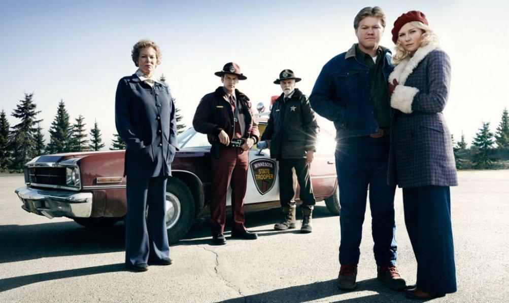 Fargo: una foto promozionale del cast della stagione 2