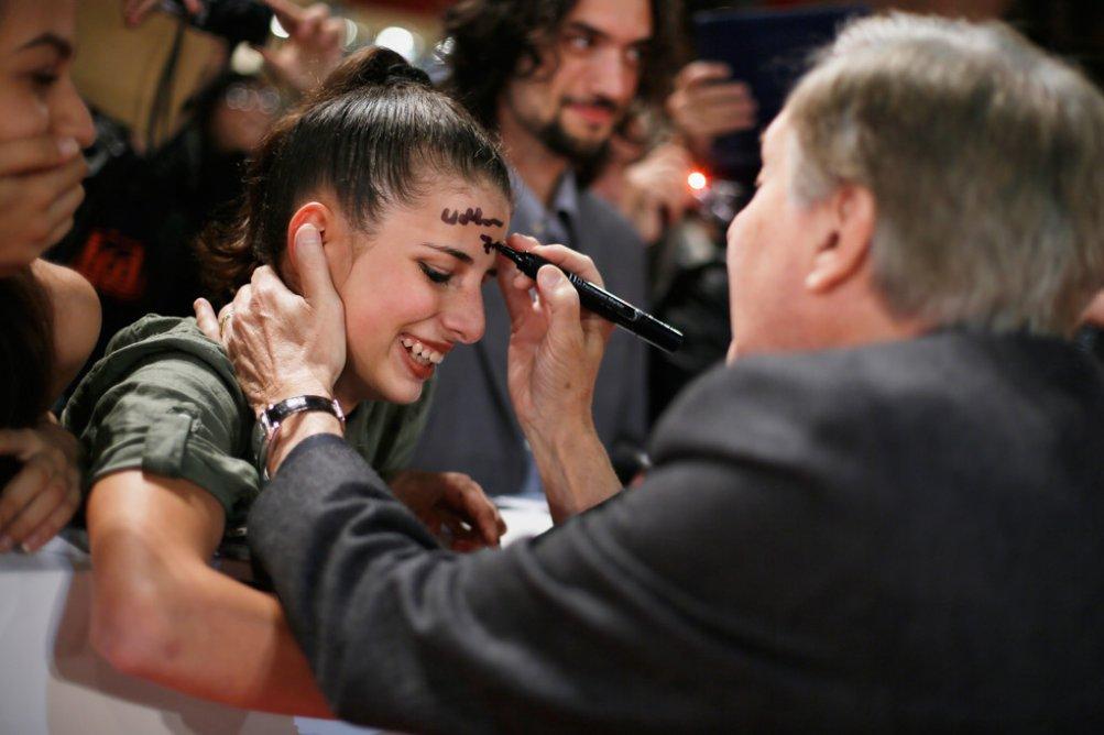 William Friedkin firma gli autografi alla Festa del Cinema di Roma 2015