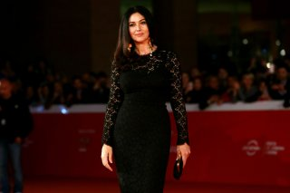 Monica Bellucci sul red carpet di Roma 2015 con Ville-Marie