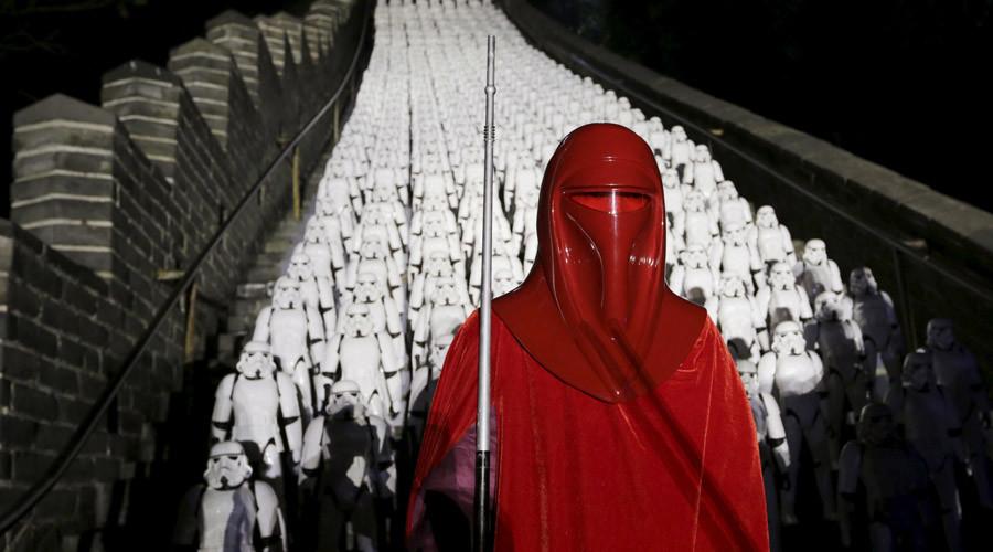Evento Star Wars in Cina alla Grande Muraglia