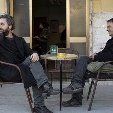 Viva la sposa: Ascanio Celestini e Salvatore Striano in una scena del film