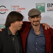 Roma 2015: Cyril Barbançon ed Andy Byatt posano al photocall di Hurricane