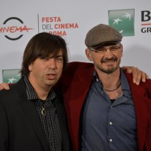 Roma 2015: Andy Byatt e Cyril Barbançon al photocall di Hurricane