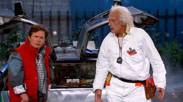 Ritorno al futuro: Marty McFly e Doc arrivano nel futuro... in TV!