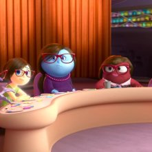 Riley's First Date: la mente della madre di Riley in una scena del corto Pixar