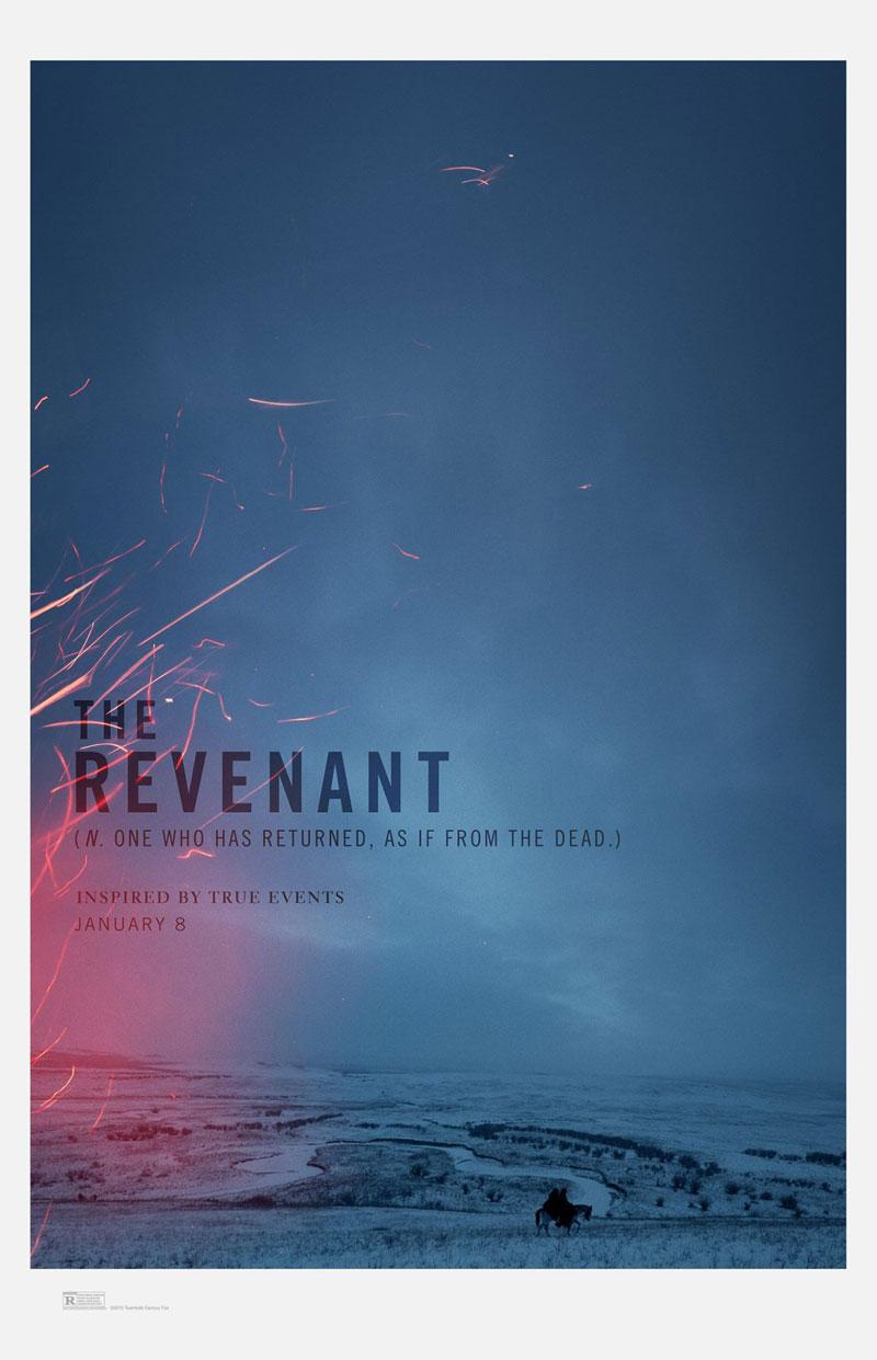The Revenant: il teaser poster del film