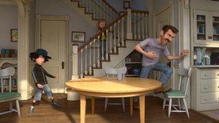 Riley's First Date: il padre di Riley e Jordan familiarizzano in una scena del corto Pixar