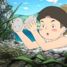 Giovanni's Island: una scena dell'anime