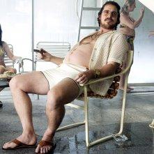 Christian Bale in American Hustle