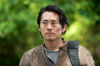 The Walking Dead: l'attore Steven Yeun nell'episodio Thank You