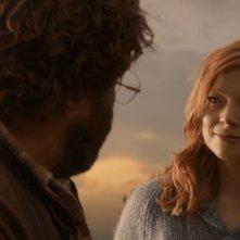 Giotto, l'amico dei pinguini: Shane Jacobson e Sarah Snook in una scena del film