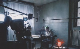 Suicide Squad: Jared Leto durante le riprese del film