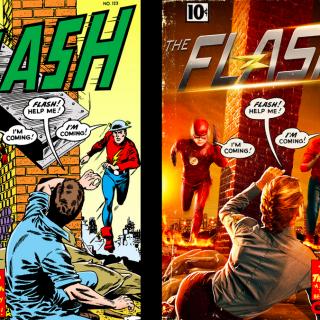 The Flash: confronto fumetto/serie