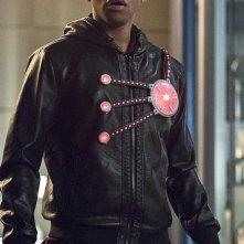 The Flash: l'attore Franz Drameh in un'immagine di The Fury of Firestorm