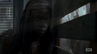 The Walking Dead: Danai Gurira interpreta Michonne nell'episodio Thank You
