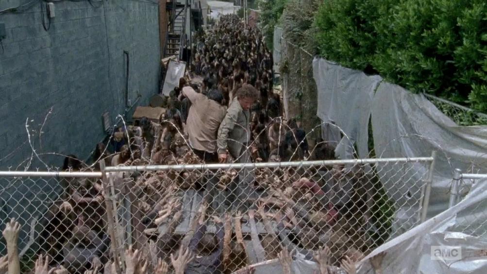 The Walking Dead: una drammatica scena dell'episodio intitolato Thank You