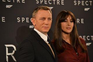 Monica Bellucci e Daniel Craig al photocall di Spectre