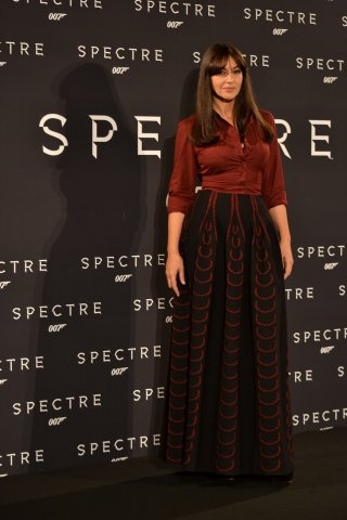 Monica Bellucci al photocall di Spectre