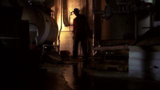 L'ombra di Freddy Krueger in Nightmare dal profondo della notte