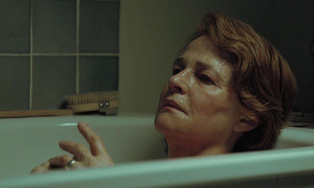 45 anni: un intenso primo piano di Charlotte Rampling