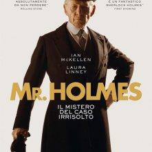 Locandina di Mr. Holmes - Il mistero del caso irrisolto