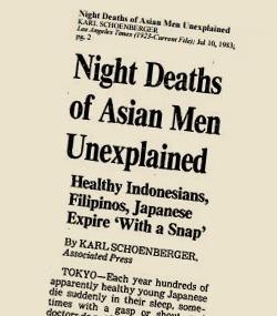 Articolo di giornale Nightmare