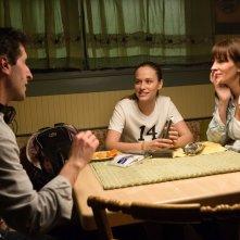 Il segreto dei suoi occhi: Julia Roberts e Zoe Graham con il regista Billy Ray sul set