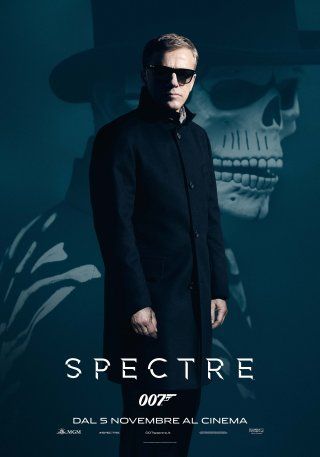 Spectre: il character poster di Christoph Waltz