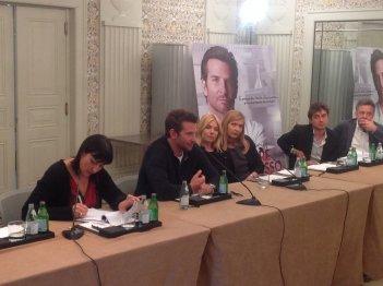 Breadley Cooper e Sienna Miller a Roma per presentare Il sapore del successo