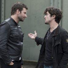 Il sapore del successo: Bradley Cooper e Riccardo Scamarcio in una scena del film