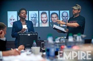 Suicide Squad: Viola Davis sul set del film