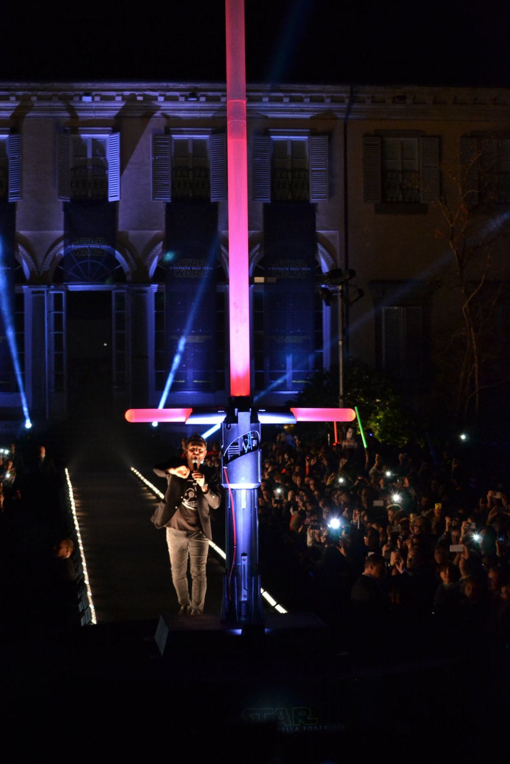 Lucca 2015: star wars night, la spada di Kylo Ren