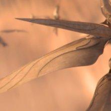 Garm Wars: L'ultimo druido, un'inquadratura aerea del film di Mamoru Oshii