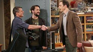 The Big Bang Theory: Jim Parson e Wil Wheaton nell'episodio The Spock Resonance