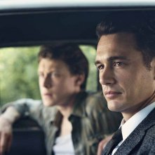 11/22/63: James Franco e George MacKay in auto