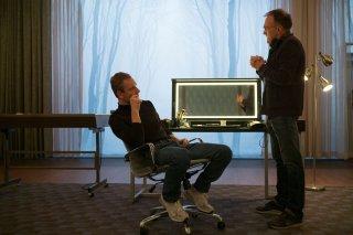 Steve Jobs: Michael Fassbender e Danny Boyle a colloquio sul set del film
