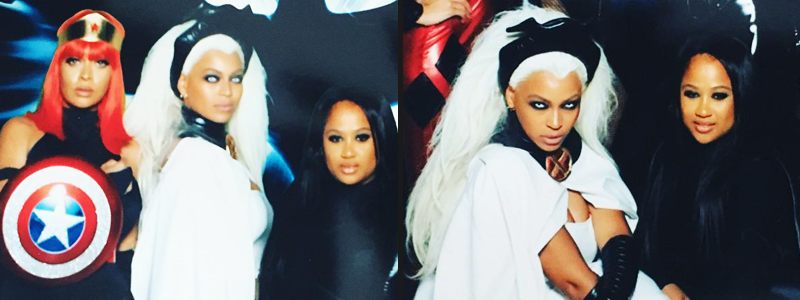 Beyoncé al party di Ciara per Halloween 2015