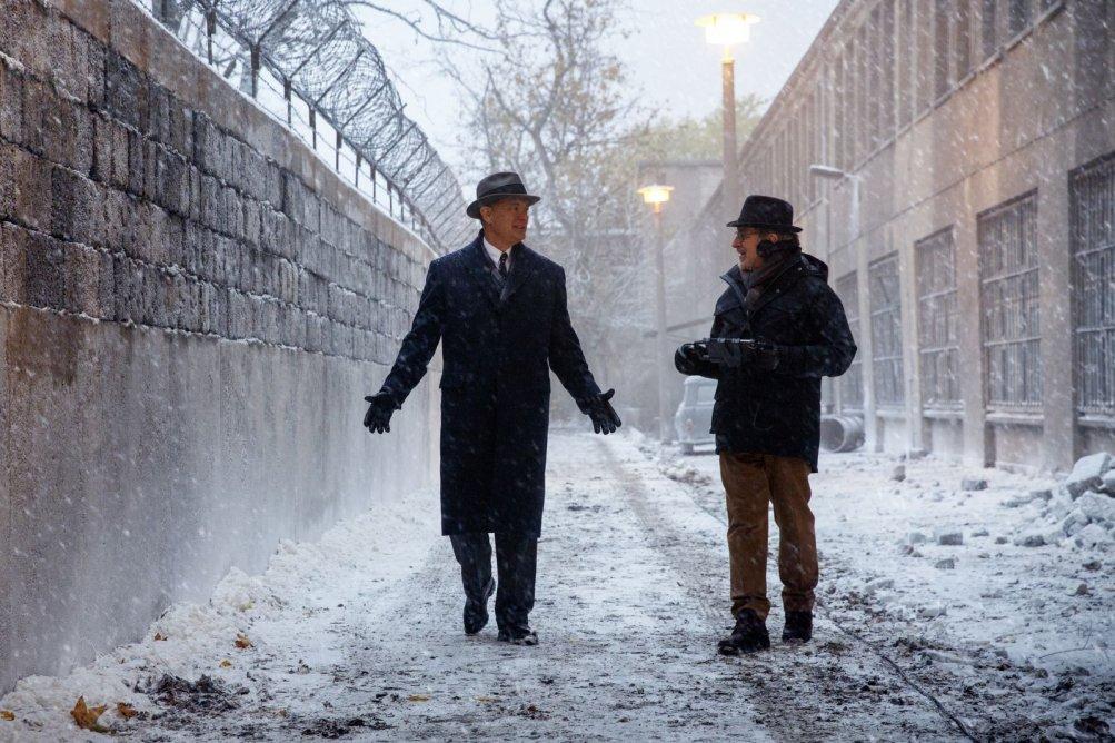 Il ponte delle spie: Tom Hanks e Steven Spielberg sul set del film