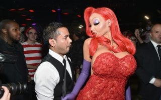 Heidi Klum è Jessica Rabbit al suo party di Halloween 2015