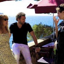 Mon roi - Il mio re: Emmanuelle Bercot, Vincent Cassel e la regista Maïwenn sul set del film
