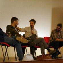 Sempre meglio che lavorare: Luca Vecchi, Luigi Di Capua e Matteo Corodini a Lucca insieme a Gabriele Niola